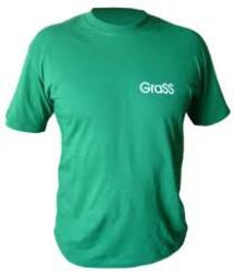 Футболка зеленая с логотипом