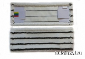 Моп 100% микрофибра шубка жесткий абразив